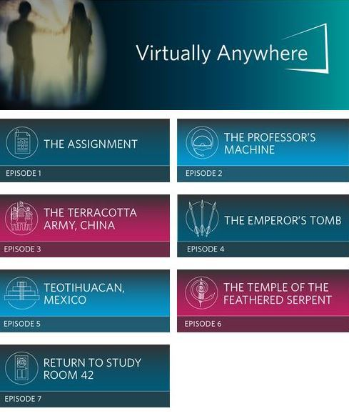 Mejora la comprensión oral en inglés con Virtually Anywhere, la primera audio serie de Cambridge English