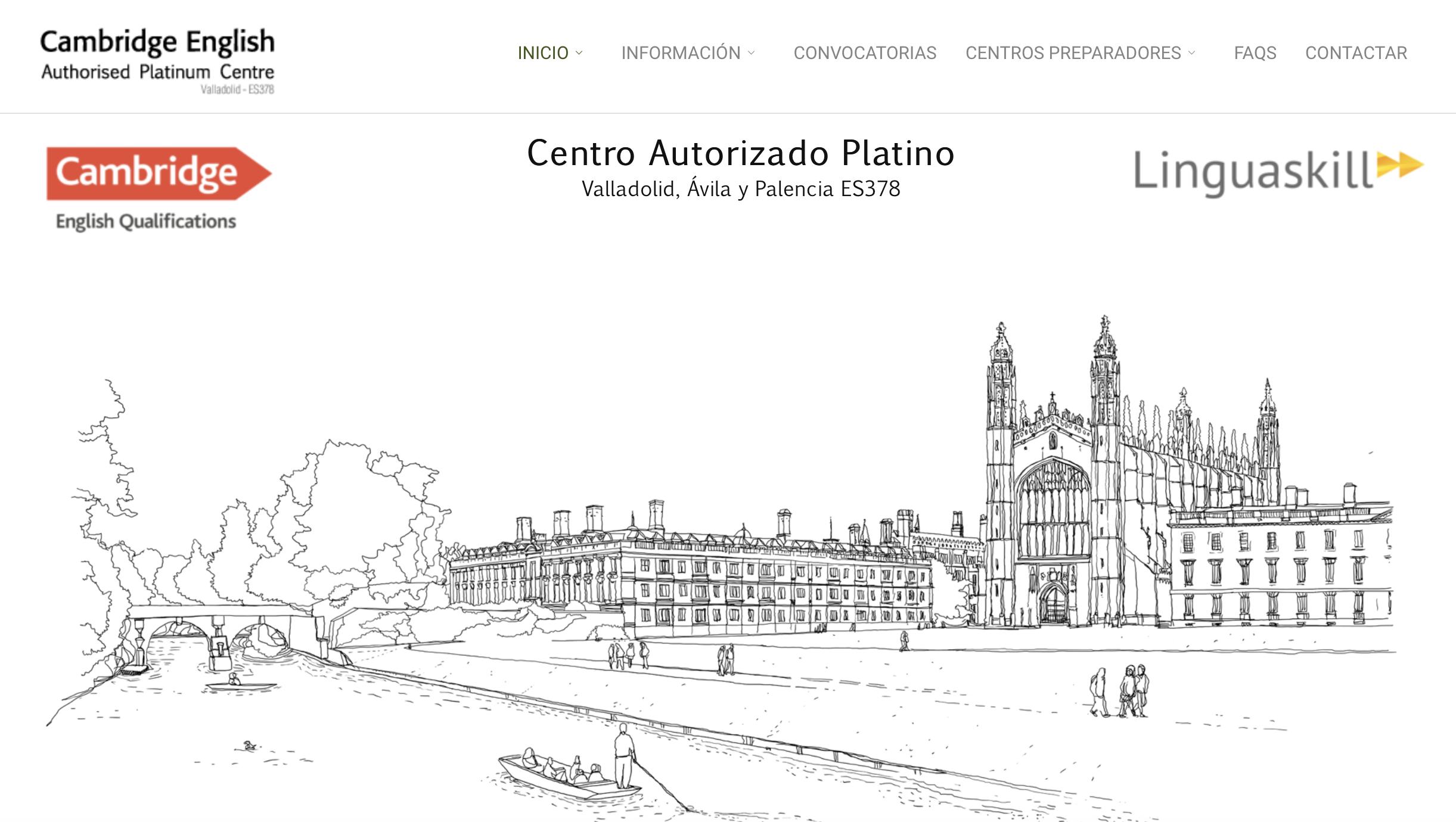 Exámenes de Cambridge en Valladolid. Centro examinador Warwick House